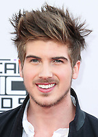 LOS ANGELES, CA, USA - NOVEMBER 23: Joey Graceffa arrives at the 2014 American Music Awards held at Nokia Theatre L.A. Live on November 23, 2014 in Los Angeles, California, United States. (Photo by Xavier Collin/Celebrity Monitor)