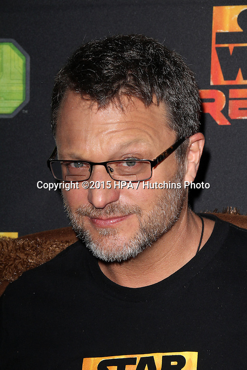 "LOS ANGELES - FEB 18:  Steve Blum at the Global Premiere of ""Star Wars Rebels"" Season 2 at the Star Wars Celebration, Anaheim Convention Center on April 18, 2015 in Anaheim, CA"