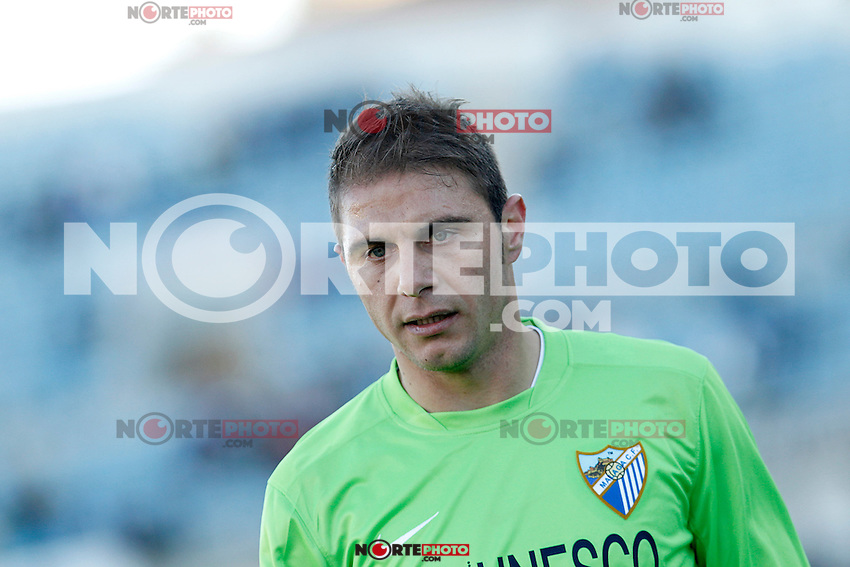 Malaga's Joaquin Sanchez during La Liga match.December 01,2012. (ALTERPHOTOS/Acero) ©/NortePhoto