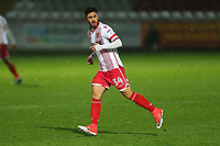 Andronicos Georgiou of Stevenage during Stevenage vs Brighton & Hove Albion Under-21, Checkatrade Trophy Football at the Lamex Stadium on 7th November 2017