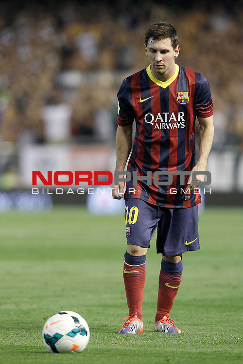 FC Barcelona's Leo Messi during La Liga match.September 1,2013. Foto © nph / Acero)