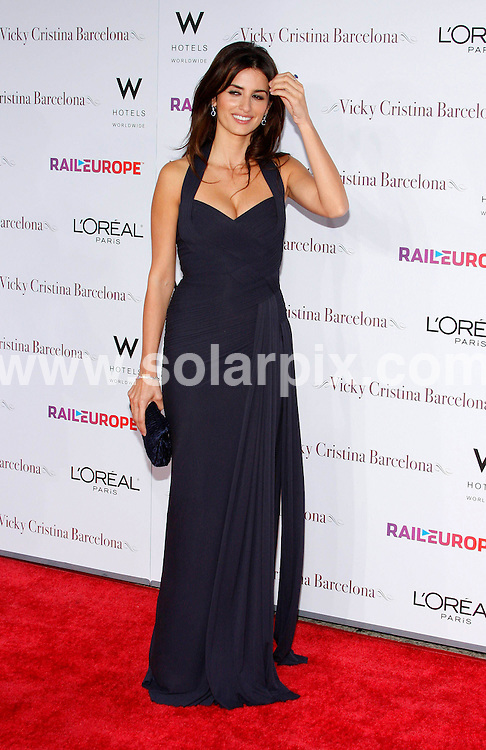 **ALL ROUND PICTURES FROM SOLARPIX.COM**.**SYNDICATION RIGHTS FOR UK, SPAIN, PORTUGAL, AUSTRALIA, S.AFRICA & DUBAI (U.A.E) ONLY**.Woody Allens latest movie Vicky Cristina Barcelona Los Angeles Premiere at the Mann Village Theatre in Westwood California in the USA. .This pic:Penelope Cruz..JOB REF:6968-PHZ/David Gabber     DATE:04_08_08 .**MUST CREDIT SOLARPIX.COM OR DOUBLE FEE WILL BE CHARGED* *UNDER NO CIRCUMSTANCES IS THIS IMAGE TO BE REPRODUCED FOR ANY ONLINE EDITION WITHOUT PRIOR PERMISSION*
