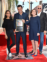 LOS ANGELES, USA. April 23, 2019: Mila Kunis, Seth MacFarlane, Ann Druyan & Ted Danson at the Hollywood Walk of Fame Star Ceremony honoring actor, animator and comedian Seth MacFarlane.<br /> Picture: Paul Smith/Featureflash