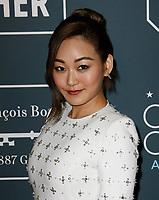 SANTA MONICA, CA - JANUARY 13: Karen Fukuhara attends the 24th annual Critics' Choice Awards at Barker Hangar on January 12, 2020 in Santa Monica, California. <br /> CAP/MPI/IS/CSH<br /> ©CSHIS/MPI/Capital Pictures