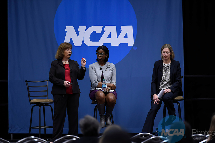 14 JAN 2016: The NCAA 101: An Overview of the Association's Structure and Where the Money Goes during the 2016 NCAA Convention takes place at the Marriott Rivercenter in San Antonio, TX. Justin Tafoya/NCAA Photos
