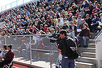 Hundreds attend a Memorial service held for Coach Bennie Eden at the Point Loma High School Football stadium that was recently renamed in his honor, Saturday February 23 2008.