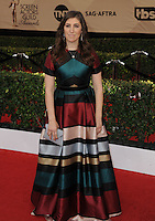 www.acepixs.com<br /> <br /> January 29 2017, LA<br /> <br /> Mayim Bialik arriving at the 23rd Annual Screen Actors Guild Awards at The Shrine Expo Hall on January 29, 2017 in Los Angeles, California<br /> <br /> By Line: Peter West/ACE Pictures<br /> <br /> <br /> ACE Pictures Inc<br /> Tel: 6467670430<br /> Email: info@acepixs.com<br /> www.acepixs.com