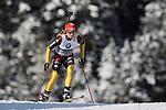 E.On IBU Biathlon World Cup 2013 - Antholz /  Anterselva - Italy.. Franziska Hildebrand on 17/01/2013 in Anterselva, Italy. ..© Pierre Teyssot