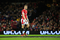 Dan Biggar of Wales during the Guinness Six Nations Championship Round 3 match between Wales and France at the Principality Stadium in Cardiff, Wales, UK. Saturday 22 February 2020