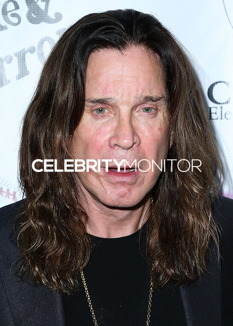 BEVERLY HILLS, CA, USA - SEPTEMBER 13: Ozzy Osbourne arrives at the Brent Shapiro Foundation For Alcohol And Drug Awareness' Annual 'Summer Spectacular Under The Stars' 2014 held at a Private Residence on September 13, 2014 in Beverly Hills, California, United States. (Photo by Xavier Collin/Celebrity Monitor)