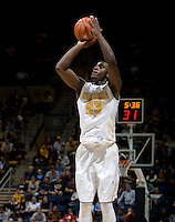 Jabari Bird of California shoots the ball during the game against Coppin State at Haas Pavilion in Berkeley, California on November 8th, 2013.    California defeated Coppin State, 83-64.