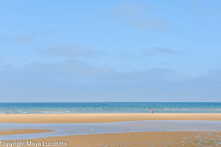 Omaha Beach, Normandy, France