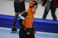 SCHAATSEN: HEERENVEEN: 01-02-2014, IJsstadion Thialf, Olympische testwedstrijd, Laurine van Riessen, ©foto Martin de Jong