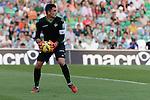 Goalkeeper Adan during the match between Real Betis and Recreativo de Huelva day 10 of the spanish Adelante League 2014-2015 014-2015 played at the Benito Villamarin stadium of Seville. (PHOTO: CARLOS BOUZA / BOUZA PRESS / ALTER PHOTOS)