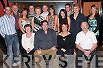 ANVIL: The staff of the Anvil Bar & Restaurant, Boolteens, Keel, Castlemaine, held their annual staff party at Tequila Restaurant, Tralee, on Friday night. Front l-r: Margaret Howe, Liz and Seamus O'Connor and John Crowley. Back were Barty Flynn, Benny Clifford, Brenda Murphy, Louise and Cara O'Connor, Christina Hayes, Margaret Clifford, Mary Dowd, Timmy O'Connor, Ciara Nagle and Stephen O'Connor..