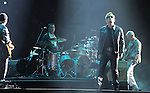 U2 performs during the U2 360° Tour at The Anaheim Stadium in Anaheim, California on June 17,2011                                                                   Copyright 2011  DVS / RockinExposures