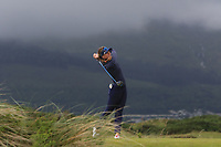 Linn Grant (SWE) on the 6th tee during Matchplay Semi-Finals of the Women's Amateur Championship at Royal County Down Golf Club in Newcastle Co. Down on Saturday 15th June 2019.<br /> Picture:  Thos Caffrey / www.golffile.ie