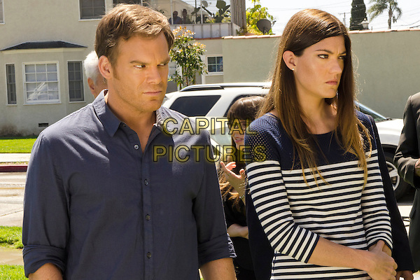 Michael C. Hall &amp; Jennifer Carpenter <br /> in Dexter (Season 8)<br /> *Filmstill - Editorial Use Only*<br /> CAP/FB<br /> Image supplied by Capital Pictures