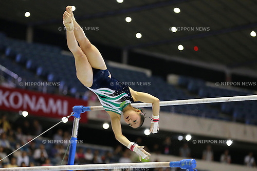 Asuka Teramoto (JPN),<br /> JUNE 8, 2013 - Artistic gymnastics : <br /> The 52nd NHK Cup, Woen's Individual All-Around 1st Day <br /> at Yoyogi 1st Gymnasium, Tokyo, Japan. <br /> (Photo by AFLO SPORT) [1156]