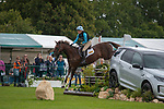 Stamford, Lincolnshire, United Kingdom, 7th September 2019, Caroline Clarke (GB) riding Touch Too Much during the Cross Country Phase on Day 3 of the 2019 Land Rover Burghley Horse Trials, Credit: Jonathan Clarke/JPC Images