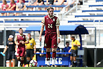 28 August 2016: Elon's Will Smith (NZL). The Elon University Phoenix played the University of San Diego Toreros at Koskinen Stadium in Durham, North Carolina in a 2016 NCAA Division I Men's Soccer match. USD won the game 2-1.