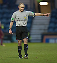 Referee George Salmond.