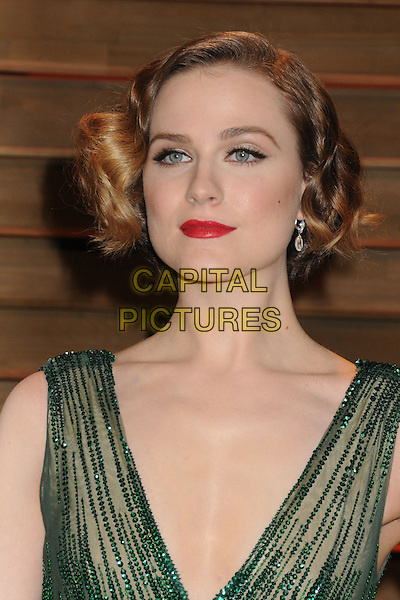 02 March 2014 - West Hollywood, California - Evan Rachel Wood. 2014 Vanity Fair Oscar Party following the 86th Academy Awards held at Sunset Plaza. <br /> CAP/ADM/BP<br /> &copy;Byron Purvis/AdMedia/Capital Pictures