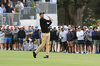 Adam Scott (International) on the 10th fairway during the First Round - Four Ball of the Presidents Cup 2019, Royal Melbourne Golf Club, Melbourne, Victoria, Australia. 12/12/2019.<br /> Picture Thos Caffrey / Golffile.ie<br /> <br /> All photo usage must carry mandatory copyright credit (© Golffile | Thos Caffrey)