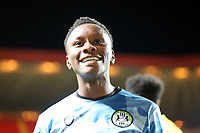 Shawn McCoulsky of Forest Green Rovers celebrates scoring the fifth penalty in the shoot-out which sends Forest Green Rovers into the second round during Charlton Athletic vs Forest Green Rovers, Caraboa Cup Football at The Valley on 13th August 2019