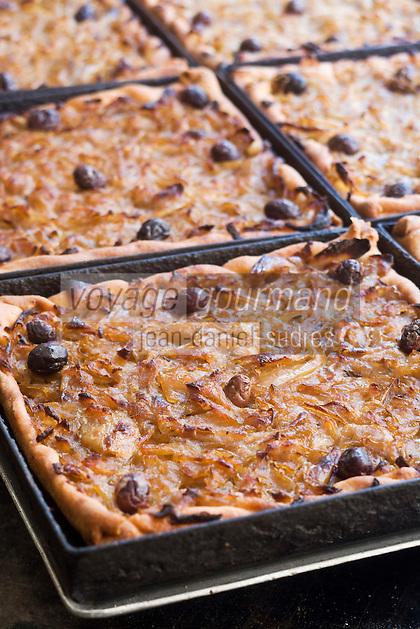 Europe/France/Provence-Alpes-Côte d'Azur/06/Alpes-Maritimes/Nice: La Pissaladière , restaurant: Chez Barale
