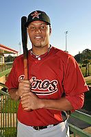 Feb 25, 2010; Kissimmee, FL, USA; The Houston Astros outfielder Yordany Ramirez (30) during photoday at Osceola County Stadium. Mandatory Credit: Tomasso De Rosa / Four Seam Images