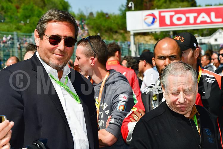 JEAN TODT (FRA) PRESIDENT OF THE INTERNATIONAL FEDERATION OF THE AUTOMOBILE GERARD NEVEU (FRA) CEO FIA WEC