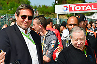 JEAN TODT (FRA) PRESIDENT OF THE INTERNATIONAL FEDERATION OF THE AUTOMOBILE GERARD NEVEU (FRA) CEO FIA WEC