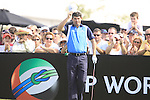 Padraig Harrington gets ready to tee off on the 1st tee during  Day 3 at the Dubai World Championship Golf in Jumeirah, Earth Course, Golf Estates, Dubai  UAE, 21st November 2009 (Photo by Eoin Clarke/GOLFFILE)
