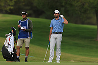 Robin Roussel (FRA) on the 9th fairway during Round 1 of the Challenge Tour Grand Final 2019 at Club de Golf Alcanada, Port d'Alcúdia, Mallorca, Spain on Thursday 7th November 2019.<br /> Picture:  Thos Caffrey / Golffile<br /> <br /> All photo usage must carry mandatory copyright credit (© Golffile | Thos Caffrey)