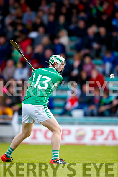 Padraig Boyle Ballyduff in action against  Lixnaw in the Senior County Hurling Final in Austin Stack Park on Sunday