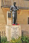 Francesco Mercieca, Frenċ tal-Għarb, 1892-1967 statue, Gharb village,  Gozo, Malta famous faith healer