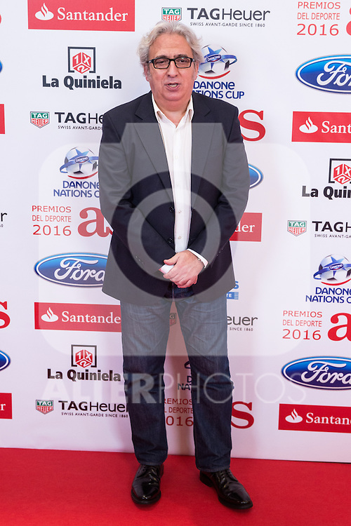 "Leo Harelem during the ""As sports Awards"" at Palace Hotel in Madrid, Spain. december 19, 2016. (ALTERPHOTOS/Rodrigo Jimenez)"