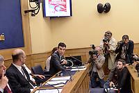 """Roma, 19 Giugno 2015<br /> Maurizio Martina.<br /> Conferenza stampa di """"Sinistra è cambiamento"""", l'area nata dopo la rottura dentro Area Riformista del Partito Democratico sull'Italicum"""