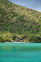 Maho Bay, Virgin Islands National Park.St. John.U.S. Virgin Islands