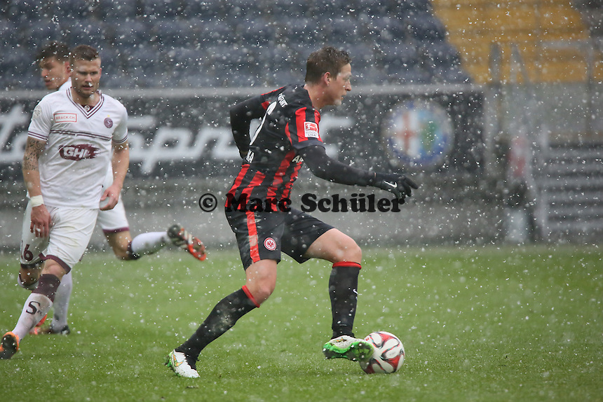 Bastian Oczipka (Eintracht) - Eintracht Frankfurt vs. Servette Genf, Commerzbank Arena