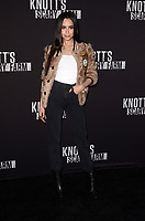 LOS ANGELES - SEP 29:  Sofia Carson at the Knott's Scary Farm and Instagram Celebrity Night at the Knott's Berry Farm on September 29, 2017 in Buena Parks, CA