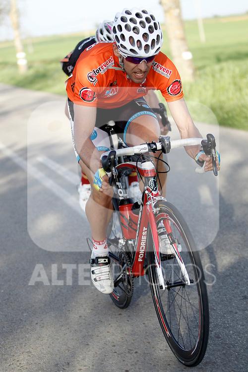 Etapa en linea ruta vuelta a Madrid 2011 85 Ricardo Ferrero Turisleon. (ALTERPHOTOS/Alvaro Hernandez)