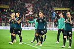 04.11.2018, Opel-Arena, Mainz, GER, 1 FBL, 1. FSV Mainz 05 vs SV Werder Bremen, <br /> <br /> DFL REGULATIONS PROHIBIT ANY USE OF PHOTOGRAPHS AS IMAGE SEQUENCES AND/OR QUASI-VIDEO.<br />  <br /> im Bild: Niklas Moisander (SV Werder Bremen #18), Max Kruse (SV Werder Bremen #10), Maximilian Eggestein (#35, SV Werder Bremen), Davy Klaassen (SV Werder Bremen #30)<br /> <br /> Foto © nordphoto / Fabisch