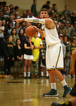 Manogue's Zachary Wurm competes against Galena at Manogue High School in Reno, Nev., on Tuesday, Feb. 11, 2014. Manogue won 66-59.<br /> Photo by Cathleen Allison