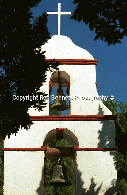 Mission bells and cross State of California, Mission bells California, West Coast of US, Golden State, 31st State, California, CA, Calif, Calf,Calaforna, Calafornia, Cali, Fine Art Photography by Ron Bennett, Fine Art, Fine Art photography, Art Photography, Copyright RonBennettPhotography.com ©