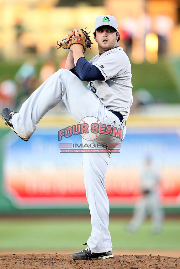 Beloit Snappers Kane Holbrooks during the Midwest League All Star Game at Parkview Field in Fort Wayne, IN. June 22, 2010. Photo By Chris Proctor/Four Seam Images