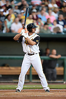 Jacksonville Suns shortstop Austin Nola (36) at bat during game three of the Southern League Championship Series against the Chattanooga Lookouts on September 12, 2014 at Bragan Field in Jacksonville, Florida.  Jacksonville defeated Chattanooga 6-1 to sweep three games to none.  (Mike Janes/Four Seam Images)