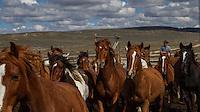 Cowboy moving horses from corral Cowboys working and playing. Cowboy Cowboy Photo Cowboy, Cowboy and Cowgirl photographs of western ranches working with horses and cattle by western cowboy photographer Jess Lee. Photographing ranches big and small in Wyoming,Montana,Idaho,Oregon,Colorado,Nevada,Arizona,Utah,New Mexico.