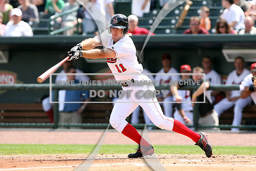 June 15th 2008:  Erik Kanaby of the Great Lakes Loons, Class-affiliate of the Los Angeles Dodgers, during a game at Dow Diamond in Midland, MI.  Photo by:  Mike Janes/Four Seam Images